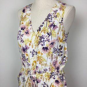 Old Navy Floral Jumpsuit